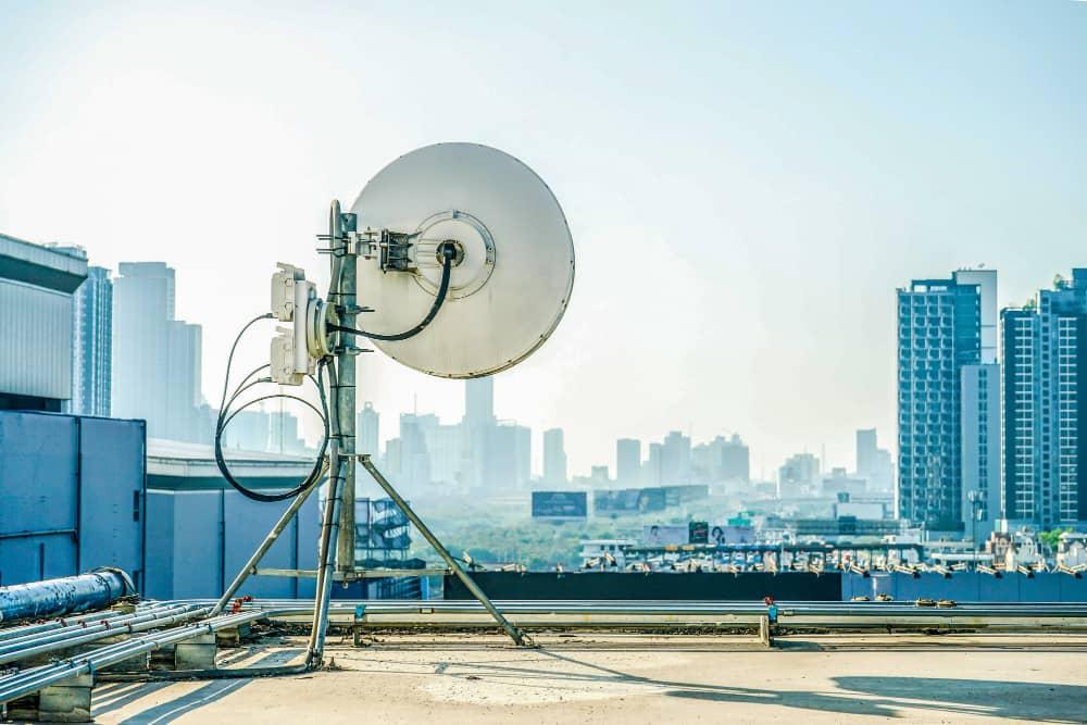 Antena Industrial - Enlaces Microondas